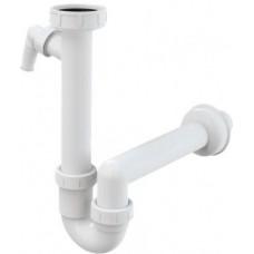 Сифон за кухненска мивка без витло 1 1/2 ф40 ALCAPLAST